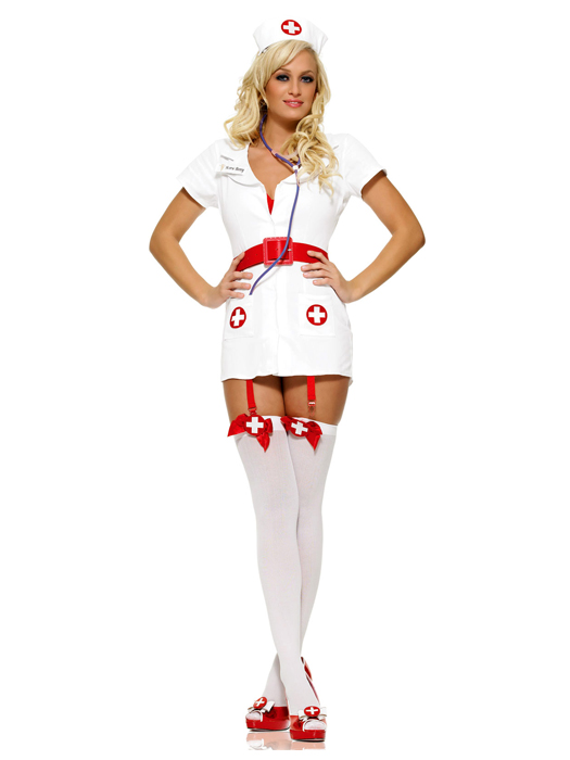 Dr. Shots Mens Costume - Mens Funny Doctor Costumes Oya.